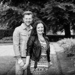 Ben and Sharon at Aston Hall in Birmingham