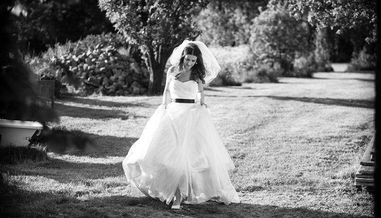 Wedding Photographer in Hothorpe Hall