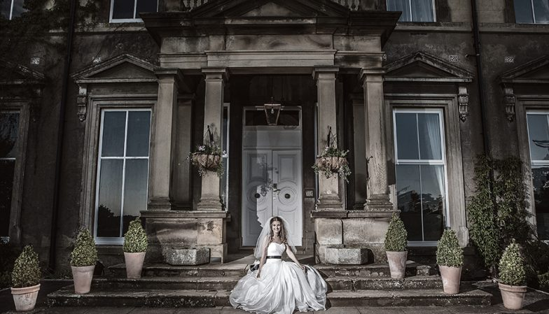 Wedding Photography in Hothorpe Hall