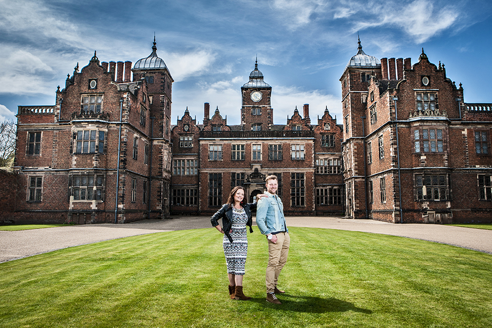 Ben and Sharon at Aston Hall in Birmingham