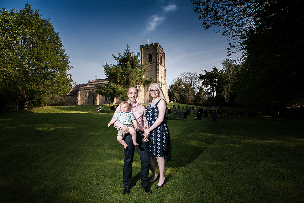 Anne-Marie & Robert Have chosen Wolvey Church for their wedding ceremony & Hinckley Island for their wedding venue