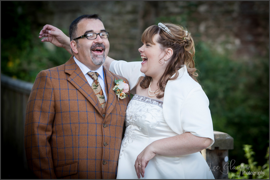 wedding photographer Ludlow Castle Shropshire