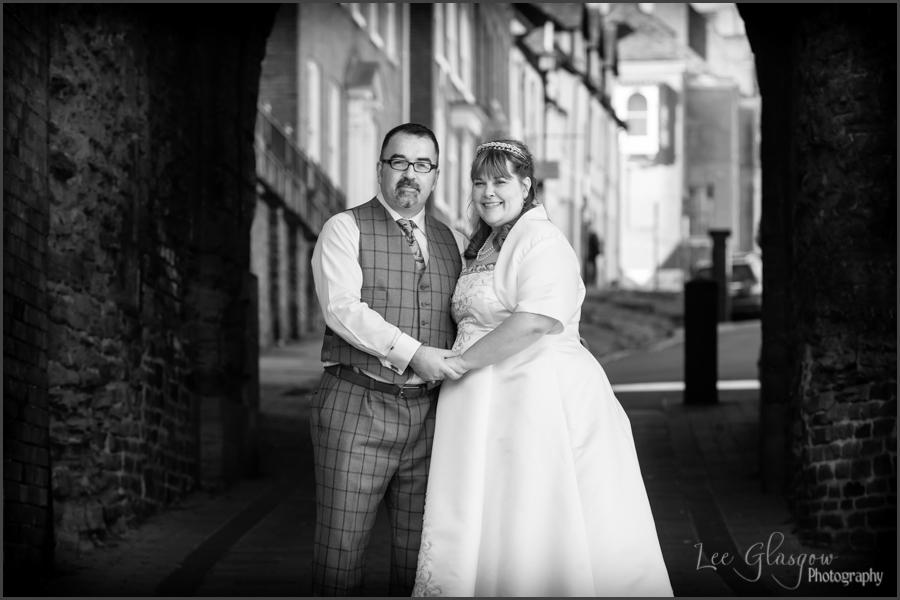 wedding photographer Ludlow Castle Shropshire