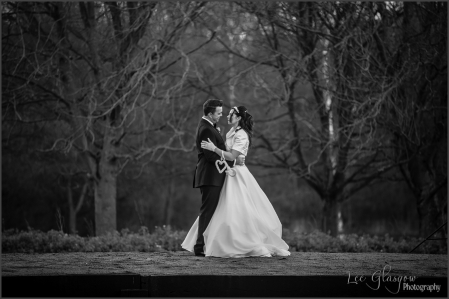 wedding photograph, hinckley golf club leicestershire