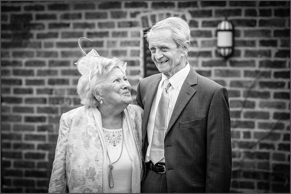 grandparents in love at mythe barn warwickshire